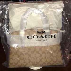 Coach satchel new